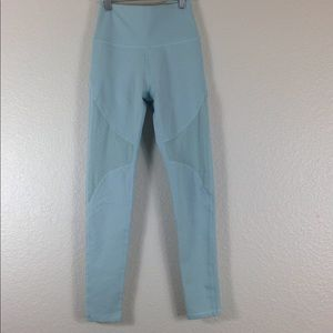 New Aerie Chill High Rise Leggings Baby Blue Sz S